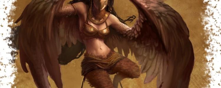 Гарпии в греческой мифологии — древние крылатые чудовища