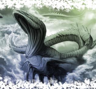 Левиафан — морское чудовище и демон из Ветхого Завета