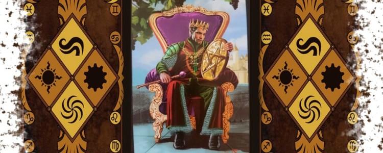 Король Пентаклей Таро — значение в отношениях и сочетание с другими картами