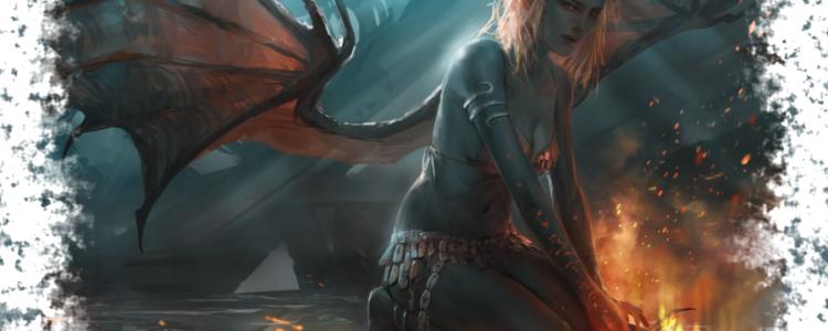 Касикандриэра — злой демон, королева Ада и жена Люцифера