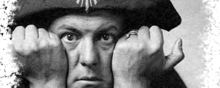 Алистер Кроули — известный таролог и оккультист из Англии
