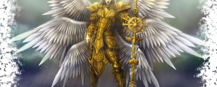 Шестикрылые серафимы — ангелы, приближенные к Богу
