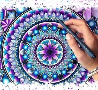 Расшифровка мандалы — цвета, рисунки и их значение