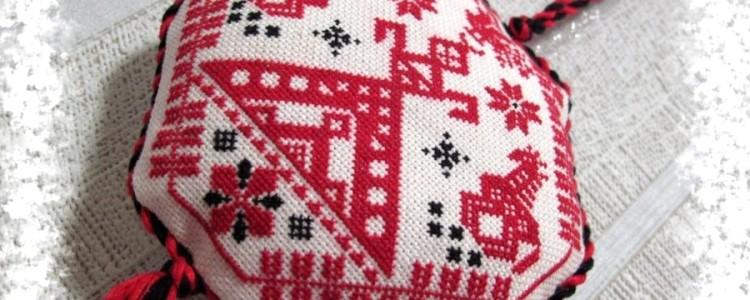 Вышивка славянских оберегов в домашних условиях