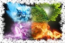 Руны 4 стихий - воды, огня, земли и воздуха