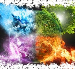 Руны 4 стихий — воды, огня, земли и воздуха