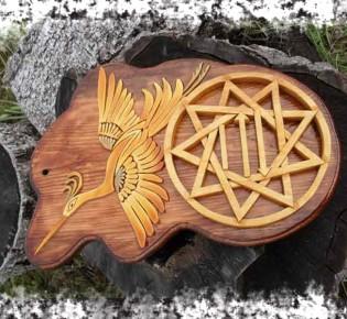 Чертог бусла (Аиста) — значение оберега и толкование символа