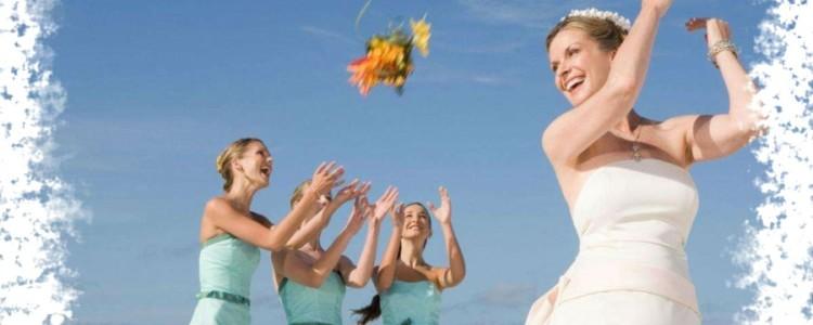 Поймать букет невесты на свадьбе — значение приметы