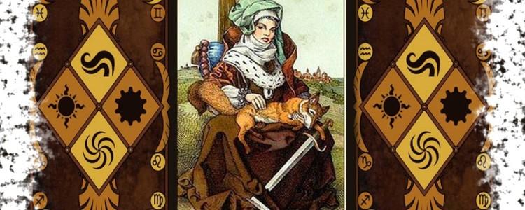 Карта Королева Мечей Таро — значение и сочетание в отношениях