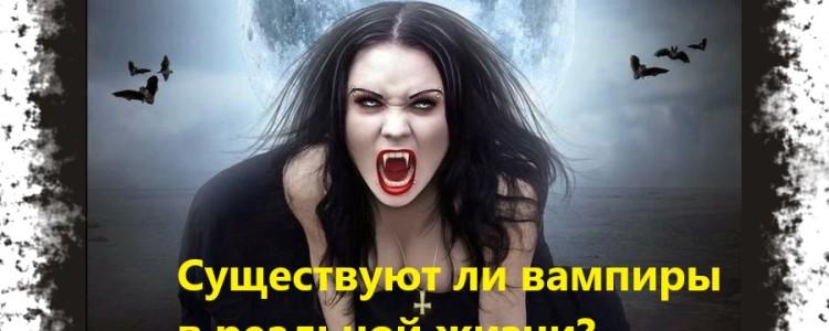 Существуют ли вампиры в реальной жизни — доказательства