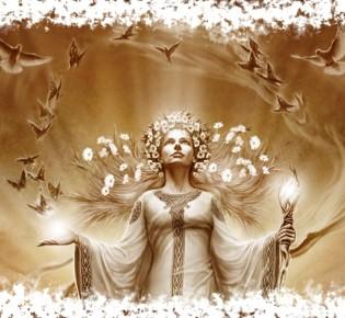 Богиня Берегиня — её значение в славянской мифологии