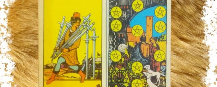 7 Мечей Таро — значение и сочетание с другими картами
