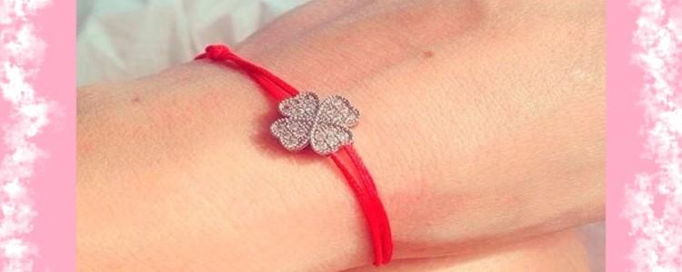 Красная нить желаний — как правильно завязать браслет на запястье