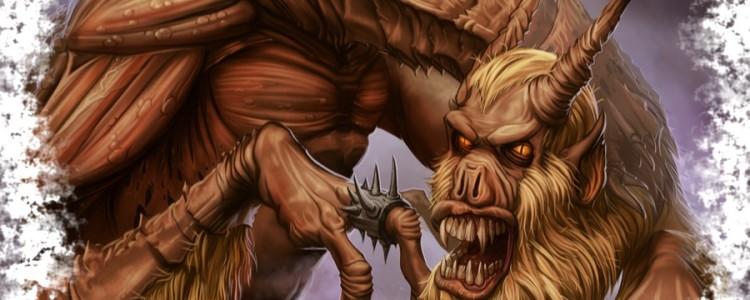 Виды демонов в демонологии из различных источников