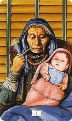 Значения цыганских карт Таро — Паридай