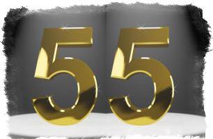 Нумерология —цифра 55