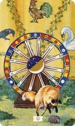 Значения цыганских карт Таро — Колесо Судьбы
