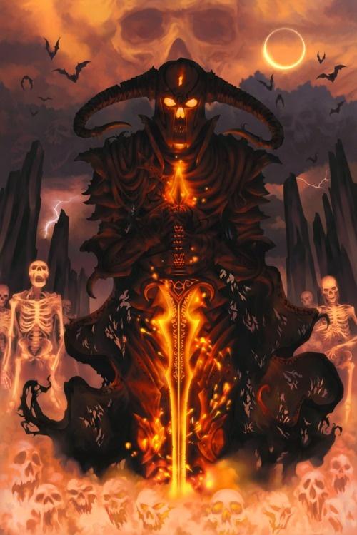 Аббадон демон - История Абаддона — как и где он упоминается