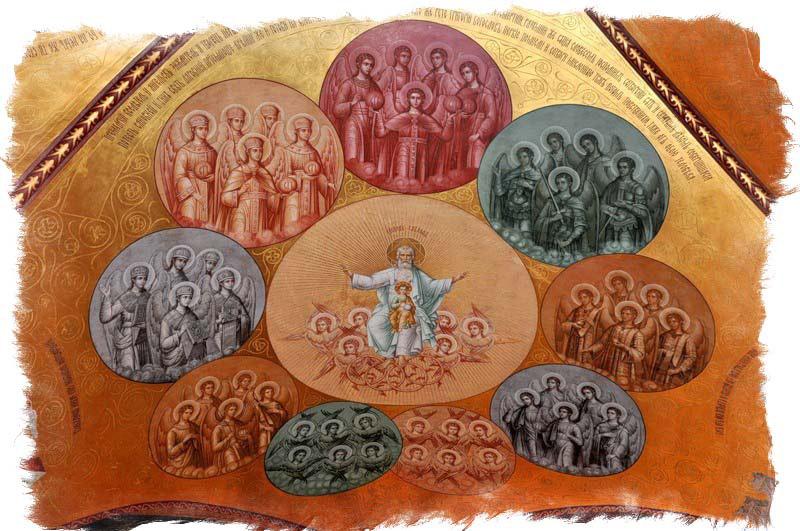 Ангелы и архангелы — род занятий, иерархия и отличия