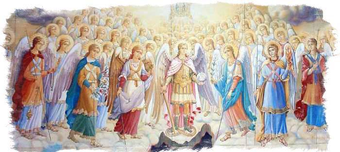 Ангелы мифология - виды ангелов по разным источникам