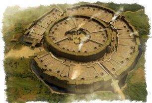 Предполагаемый вид Аркаима времен зарождения египетской цивилизации