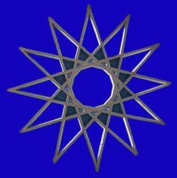 азазель призвать заклинание - 13-лучевая звезда