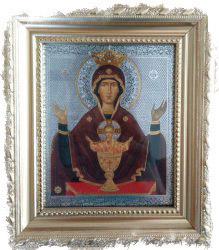 Как намаливаются благодатные иконы - икона Божией Матери