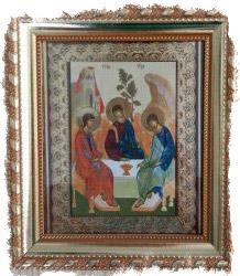 Как намаливаются благодатные иконы - икона Троица