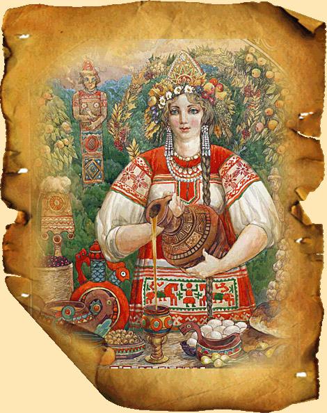 Кто такая богиня Макошь и каково значение её символов