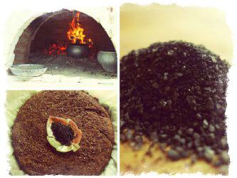 Первые рецепты черной соли