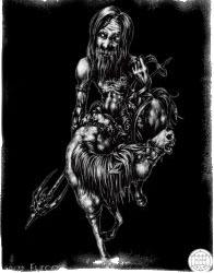 Демоны гоэтии - Рыцарь Фуркас