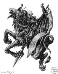 72 демона Гоэтии - Герцог Элигос