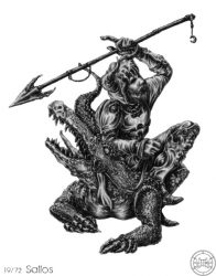 72 демона Гоэтии - Граф Саллос