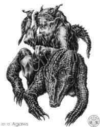 72 демона Гоэтии - Герцог Агарес