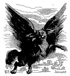 72 демона Гоэтии - Граф и Губернатор Гласеа-Лаболас