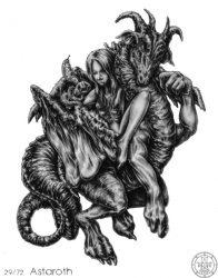 72 демона Гоэтии - Герцог Астарот