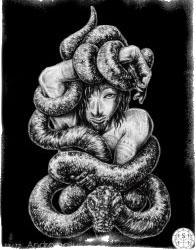 Демоны гоэтии - Граф Андромалиус