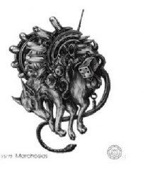 72 демона Гоэтии - Маркиз Мархосиас