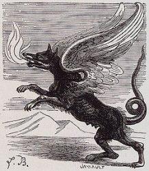 72 демона Гоэтии - Маркиз Амон