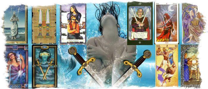 2 мечей таро значение карты