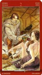 двойка мечей таро значение в отношениях