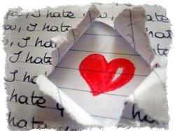 Гадание на мальчика на бумаге «Любит — не любит»