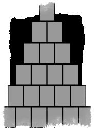 Гадание на игральных картах «Пирамида»