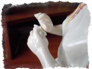 Как сделать статуэтку любви для гадания своими руками