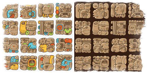 Гадание Майя — значение символов и знаков