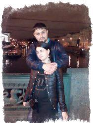 Виолетта Полякова с мужем Александром