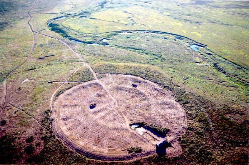 места где пропадают люди - руины Аркаима