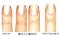 форма ногтей и характер человека