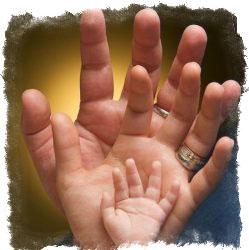 Характер по пальцам на руке и их расположению