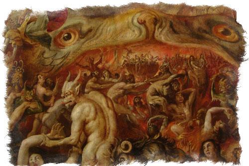 Иерархия демонов в христианстве